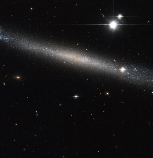 Hubble galáxia (Foto: ESA/Hubble & NASA)
