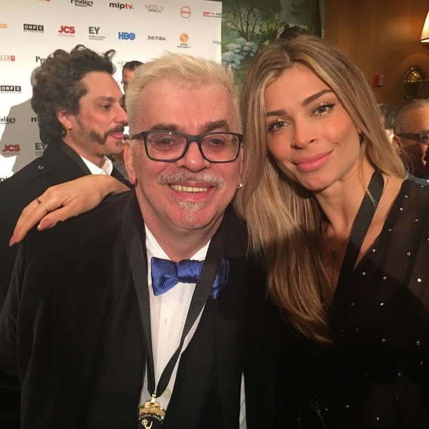 Walcyr Carrasco e Grazi Massafera (Foto: Instagram / Reprodução)