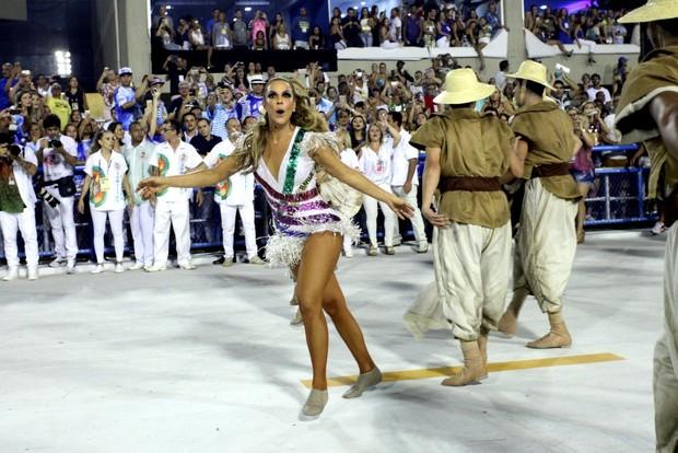 Ivete Sangalo no Desfile das Campeãs (Foto: Claudio Andrade / EGO)