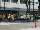 Manifestação pró-impeachment reúne mogianos no centro da cidade