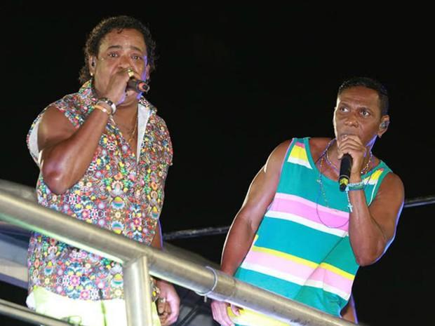 Grupo É o Tchan canta no circuito Dodô (Barra-Ondina) (Foto: Mauro Zaniboni /Ag Haack)