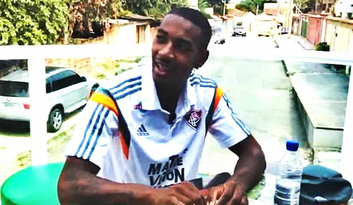 Gerson conversou com o Esporte Espetacular (Foto: Reprodução TV Globo)