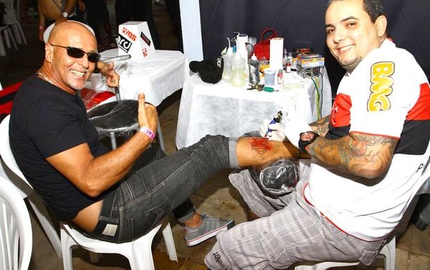 Uri Geller, Flamengo (Foto: Pedro Monteiro)