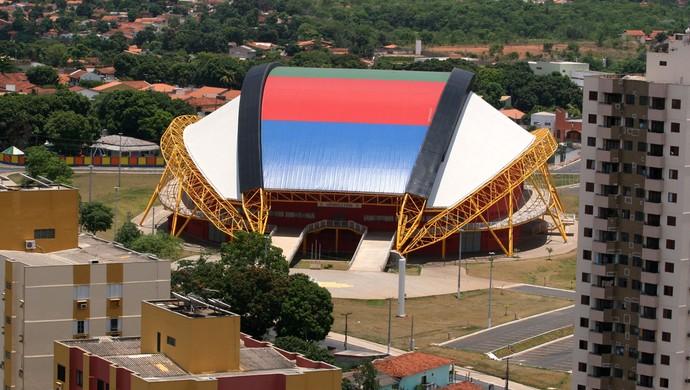 Ginásio Aecim Tocantins em Cuiabá (Foto: Edson Rodrigues/Secopa-MT)