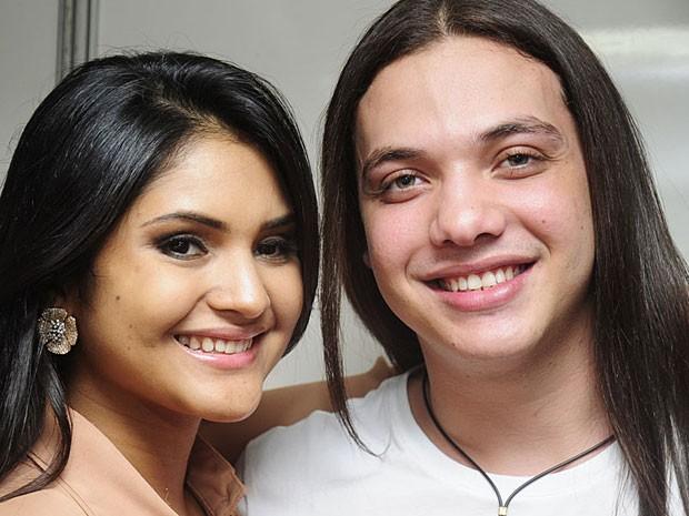 Wesley Safadão - Banda Garota Safada (Foto: Adriana Noya / G1)