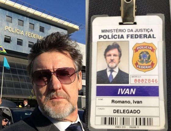 Na produção o ator Antonio Calloni vive o delegado Ivan Romano (Foto: Reprodução Instagram)