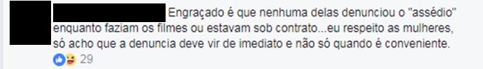 comentários (Foto: Reprodução/Facebook)