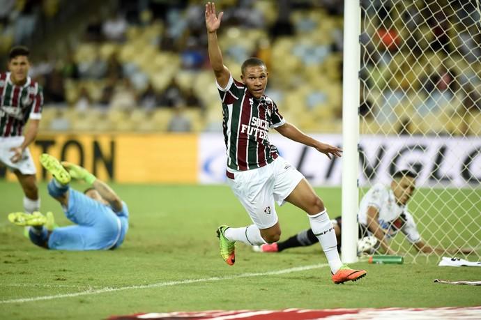 Wellington Silva Vasco x Fluminense (Foto: André Durão)