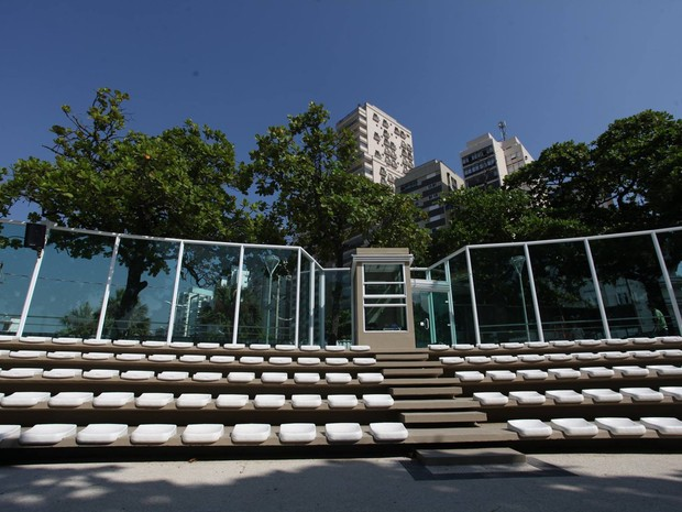 Concha Acústica volta a ser palco de eventos em Santos (Foto: Divulgação / Prefeitura Municipal de Santos)