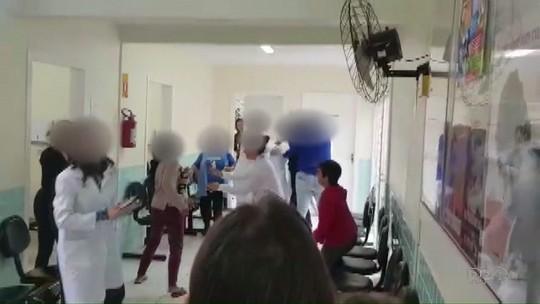 Pacientes agridem médica em posto de saúde de Francisco Beltrão; VÍDEO