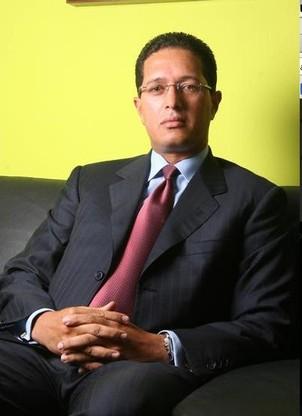 O ex-banqueiro venezuelano Eligio Cedeño, quando ainda vivia em Caracas. Hoje asilado nos EUA, ele se tornou um dos maiores desafetos de Hugo Chávez (Foto: Divulgação)