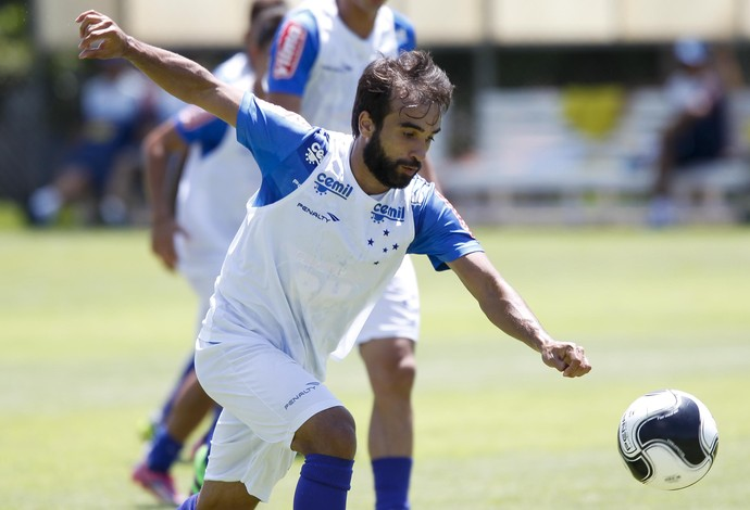 Gabriel Xavier; Cruzeiro (Foto: Light Press)