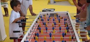 Diversão para todos na arena da BDQ na Praia de Copacabana (Daniel Cardoso (Globoesporte.com))