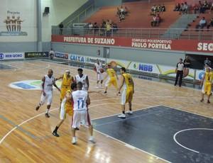 Suzano x São José Basquete NBB (Foto: Petterson Rodrigues/ Globoesporte.com)