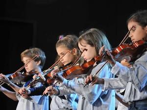 Grupo Pequenos Mozarts (Foto: Divulgação/Facebook Festival Vale do Café)