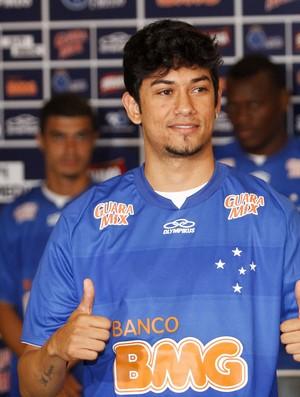 Lucca, atacante do Cruzeiro (Foto: Washington Alves / Vipcomm)