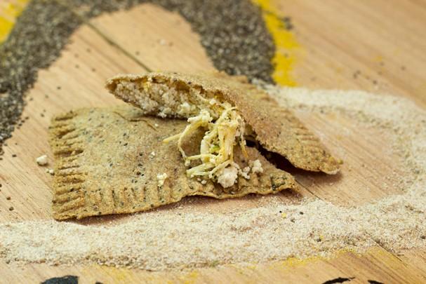 Pastel de forno sabor frango e ricota: delícia! (Foto: Divulgação)