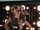 Sem camisa, Juliano Cazarré faz coreografia ousada em festa de novela