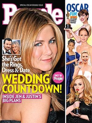 Jennifer Aniston na capa da revista People (Foto: Reprodução / People Magazine)