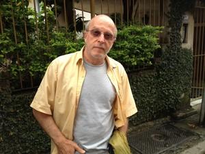 """Jaques disse que pista estava """"um sabão"""" (Foto: Carolina Lauriano / G1)"""