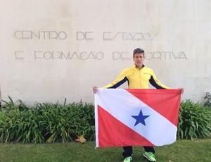 Danilo Pimental, triatleta paraense (Foto: Divulgação / Agência Pará)