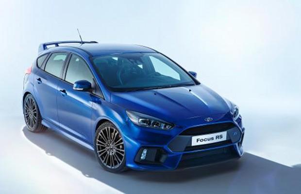 Ford Focus RS aparece em imagem vazada (Foto: Reprodução)