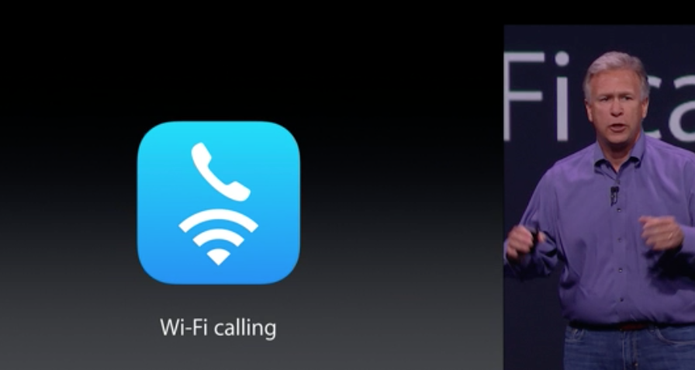 Wi-Fi calling dos novos iPhones (Foto: Reprodução/Apple)