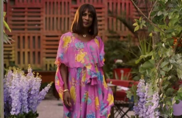 O ator Luis Miranda foi a transgênero Dorothy em 'Geração Brasil' (Foto: Reprodução)