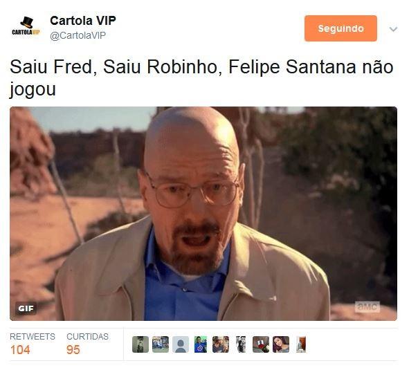 Meme Cartola Rodada #5 (Foto: Reprodução)