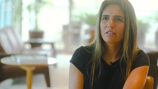 """Emily quer reforço emocional do Brasil e Marta perto do gol: """"Ali é perigosa"""""""