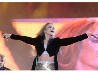 Claudia Leitte no Rock in Rio (Foto: Felipe Panfili / Ag News)