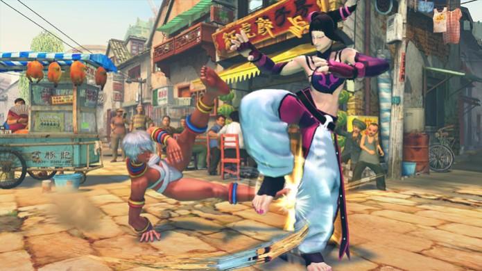 A capoeirista Elena é uma das novas personagens de Ultra Street Fighter 4 (Foto: Divulgação) (Foto: A capoeirista Elena é uma das novas personagens de Ultra Street Fighter 4 (Foto: Divulgação))