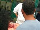 Homem é levado à delegacia por suspeita de vender carne de cachorro