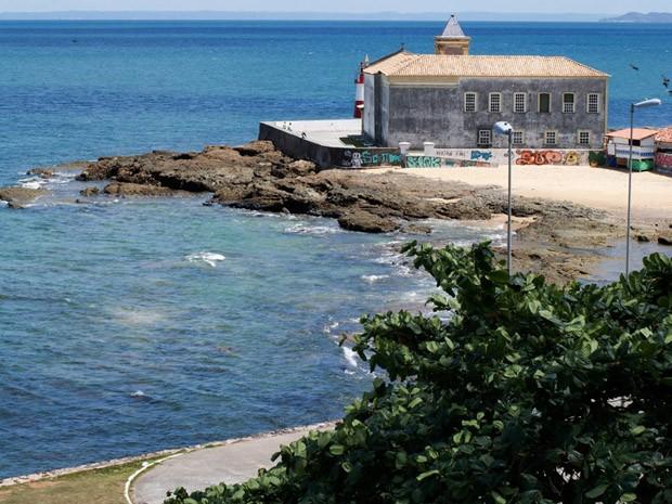 Ponta do Humaitá atual. (Foto: Egi Santana/G1)