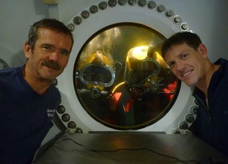 Habitat submarino para testes da NASA (Foto: NASA)