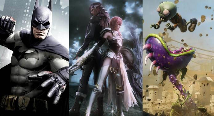Batman, Final Fantasy e Plants vs. Zombies estão entre as ofertas (Foto: Divulgação)