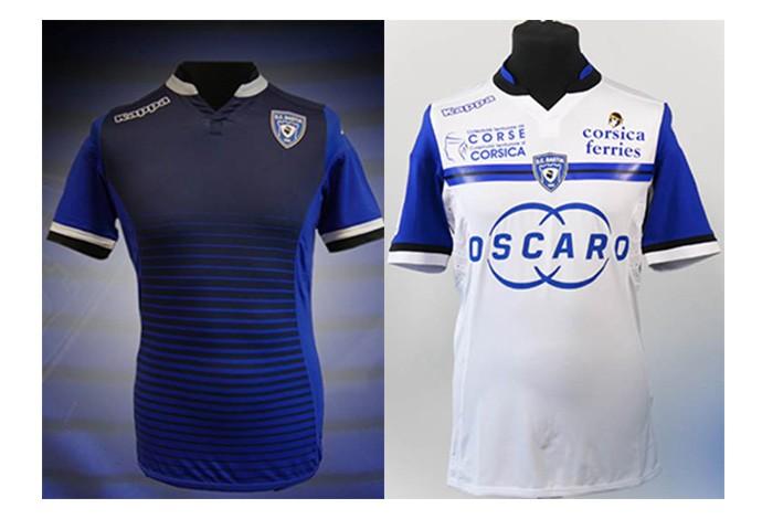 Camisas Bastia