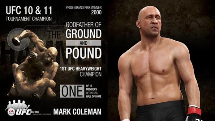 EA Sports UFC: Primeiro lutador lendário do novo DLC é Mark Coleman (Foto: Divulgação) (Foto: EA Sports UFC: Primeiro lutador lendário do novo DLC é Mark Coleman (Foto: Divulgação))