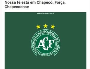 Nota CRB - Chapecoense (Foto: Divulgação/CRB)