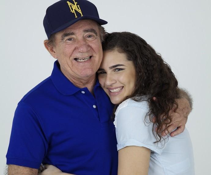 Lívian Aragão pega muitas dicas com o pai (Foto: Arquivo Pessoal)