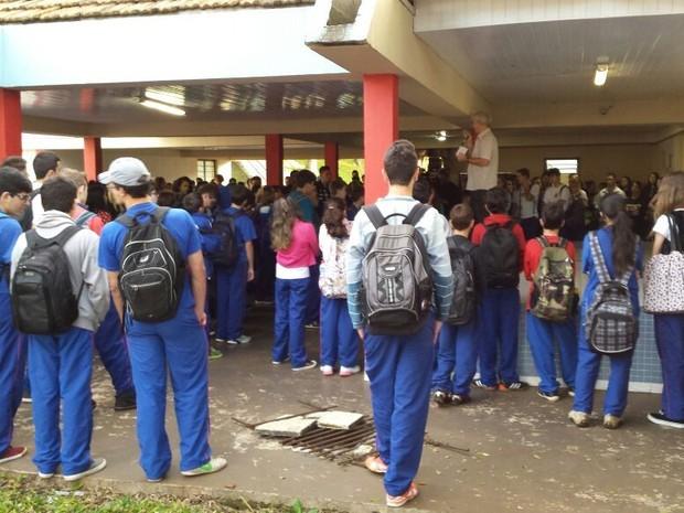 Paraná TV Volta às aulas (Foto: Argeu Almeida/RPC / G1 PR)