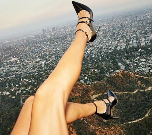 Shoe Selfie (Foto: Reprodução/Instagram)