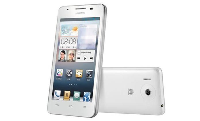 Smart da Huawei tem câmera traseira com 5 MP e frontal de 0,3 MP (Foto: Divulgação/Huawei)