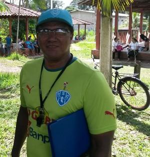 Samuel Cândido é técnico do Paysandu Sub-20 (Foto: Tadeu Verderosa/Ascom Paysandu)