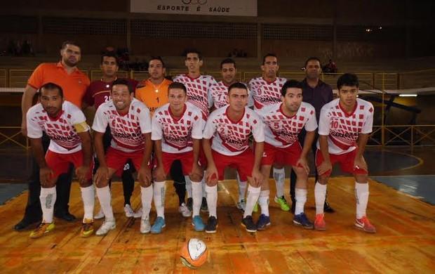 Equipe de Garanhuns Copa TV Asa Branca de Futsal (Foto: Divulgação / ASCOM Garanhuns)