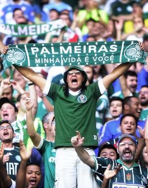 Palmeiras x Santos - Torcida (Foto: Marcos Ribolli)