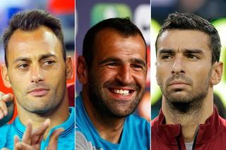 Beto, Eduardo e Rui, goleiros de Portugal (Foto: Reuters)