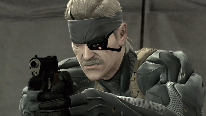 Metal Gear Solid 4 fez uso do Blu-ray por completo (Foto: Divulgação/Konami)
