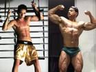Modelo muda treino e dieta para 'virar' Felipe Franco: 'Cansei de ser magrinho'