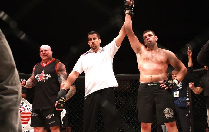 Pedro Rizzo x Jeff Monson, Bitetti Combat 4 (Foto: Marcelo Alonso)